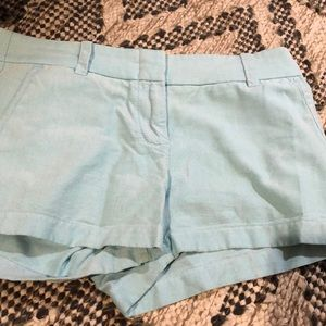 J.Crew light blue/turquoise shorts